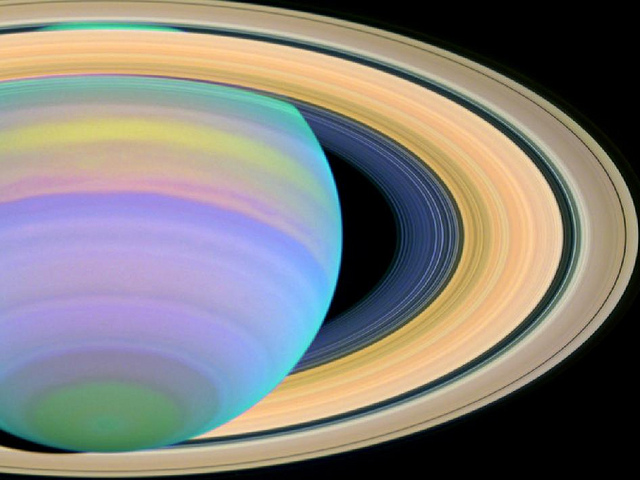 Saturn by NASA's Marshall Space Flight Center