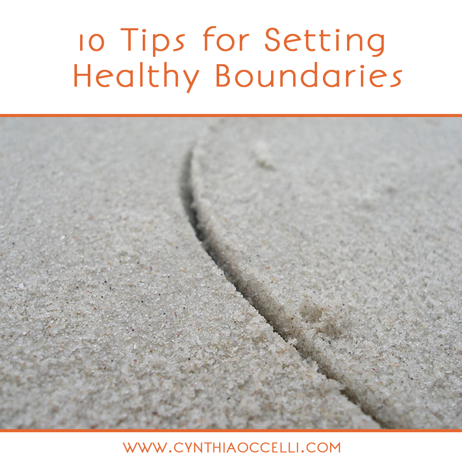 10 Tips for Setting Healthy Boundaries