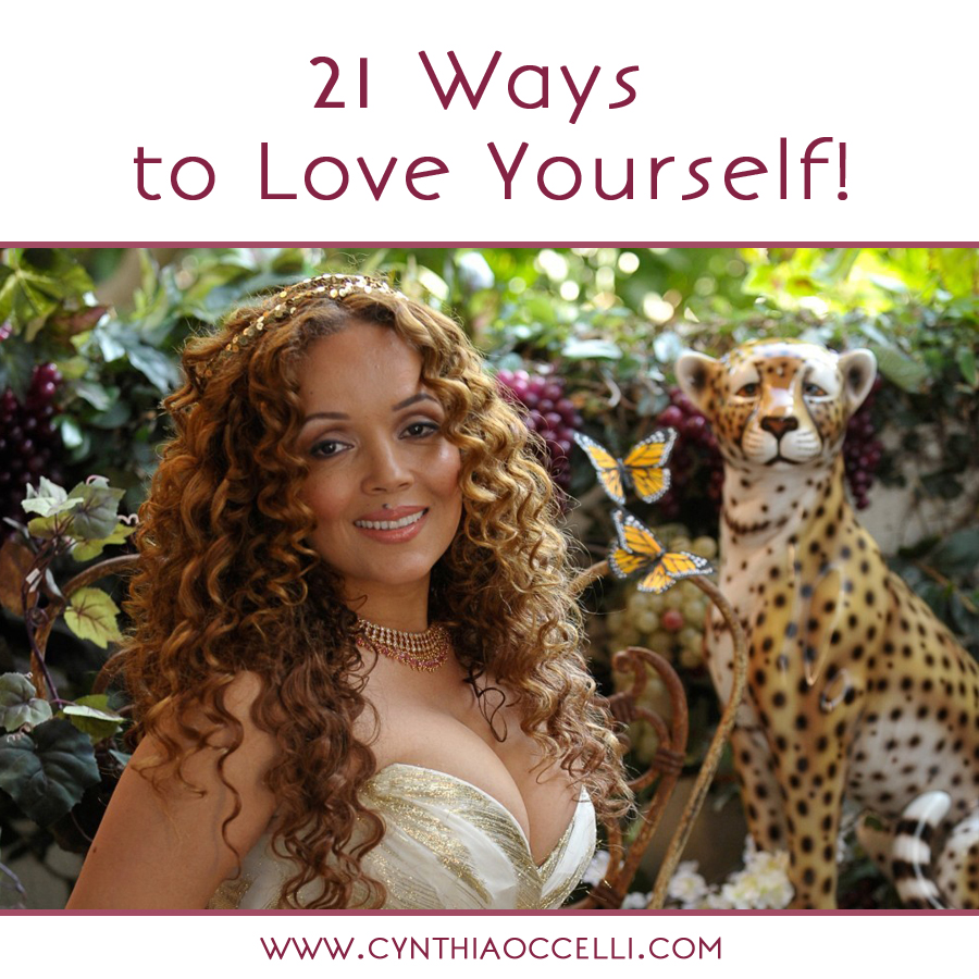 21 Ways to Love Yourself!