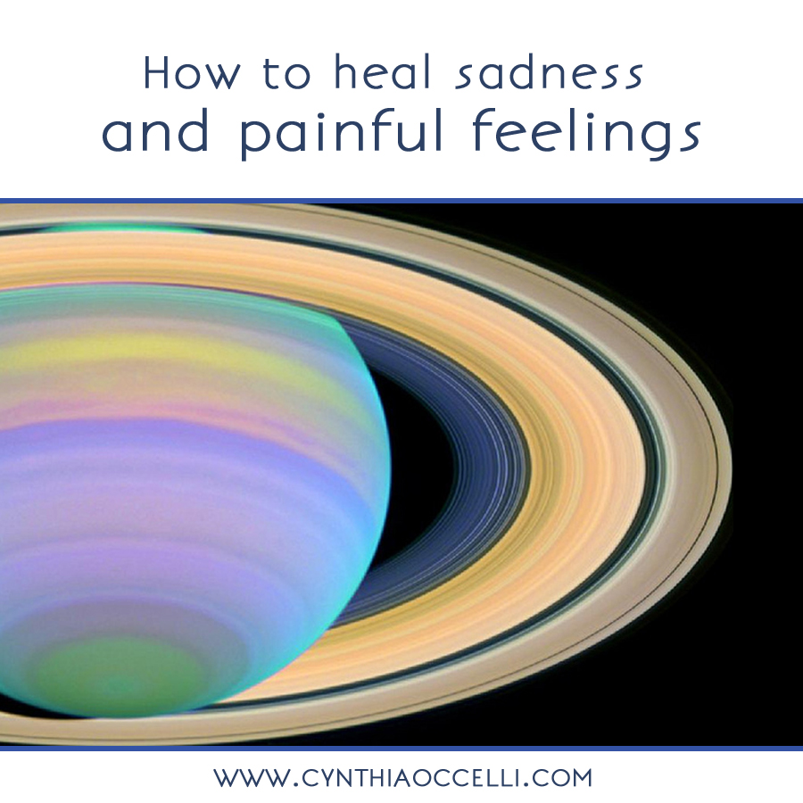 How to heal sadness and painful feelings