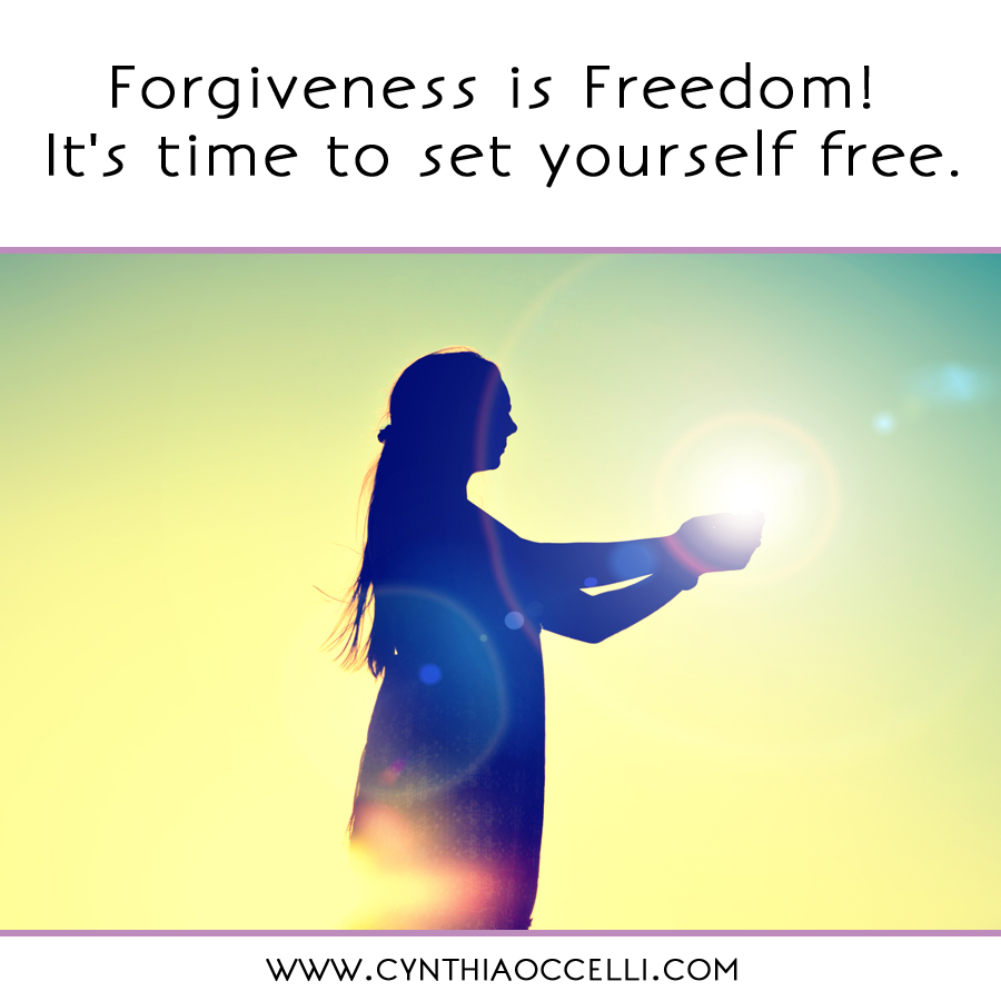 Forgiveness is Freedom! It's time to set yourself free.