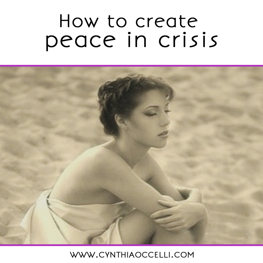 How to create peace in crisis