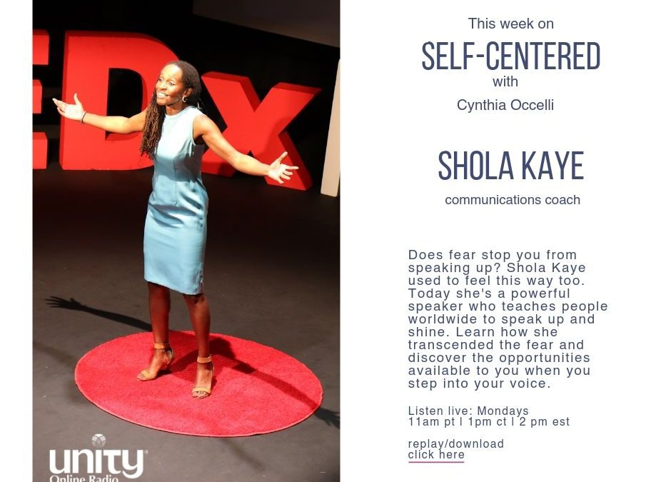 Speak Up Like a Diva with Shola Kaye