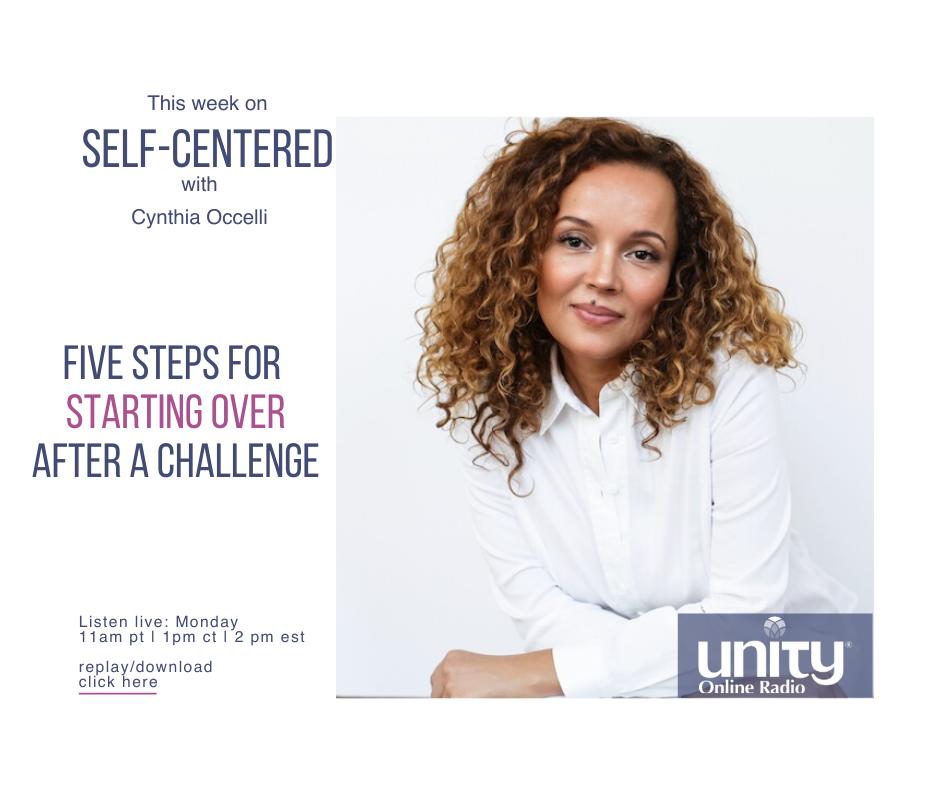 Self Centered - Five Steps for Starting Over after a Challenge